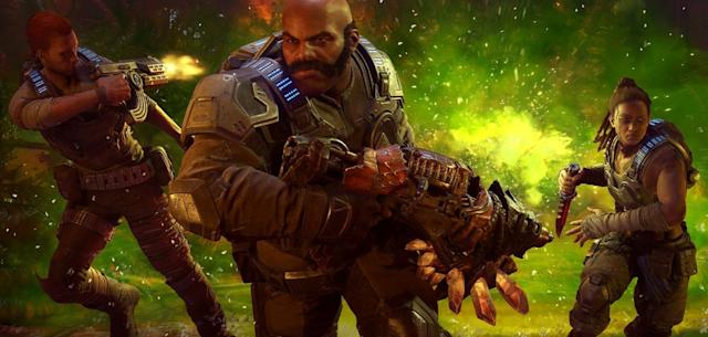 I survived the new Escape mode in 'Gears 5'