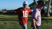 Kisner wears Alabama jersey after losing bet