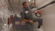 Scientists defy gravity for weightless experiments