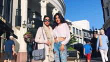 Sridevi shares a photo from her vacation trip with baby Jhanvi Kapoor