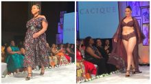 Curvy models were front and center on this runway