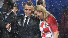 Die beste denkbare Verliererin: Kroatiens Präsidentin Kolinda Grabar-Kitarović begeistert Millionen Fußballfans mit ihrer Herzlichkeit