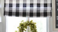 10 ideas simples de cortinas para hacer en casa