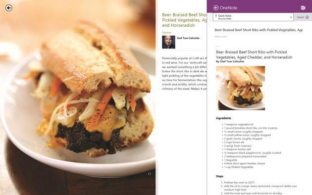 OneNote for Windows 8.1 now uses optical character recognition to search scanned images