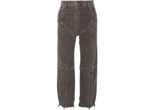 Zip around jeans