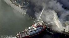 Firefighters Battle Major Warehouse Fire on San Francisco's Famed Fisherman's Wharf