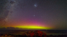 Incredible Southern Lights display captured in time lapse video