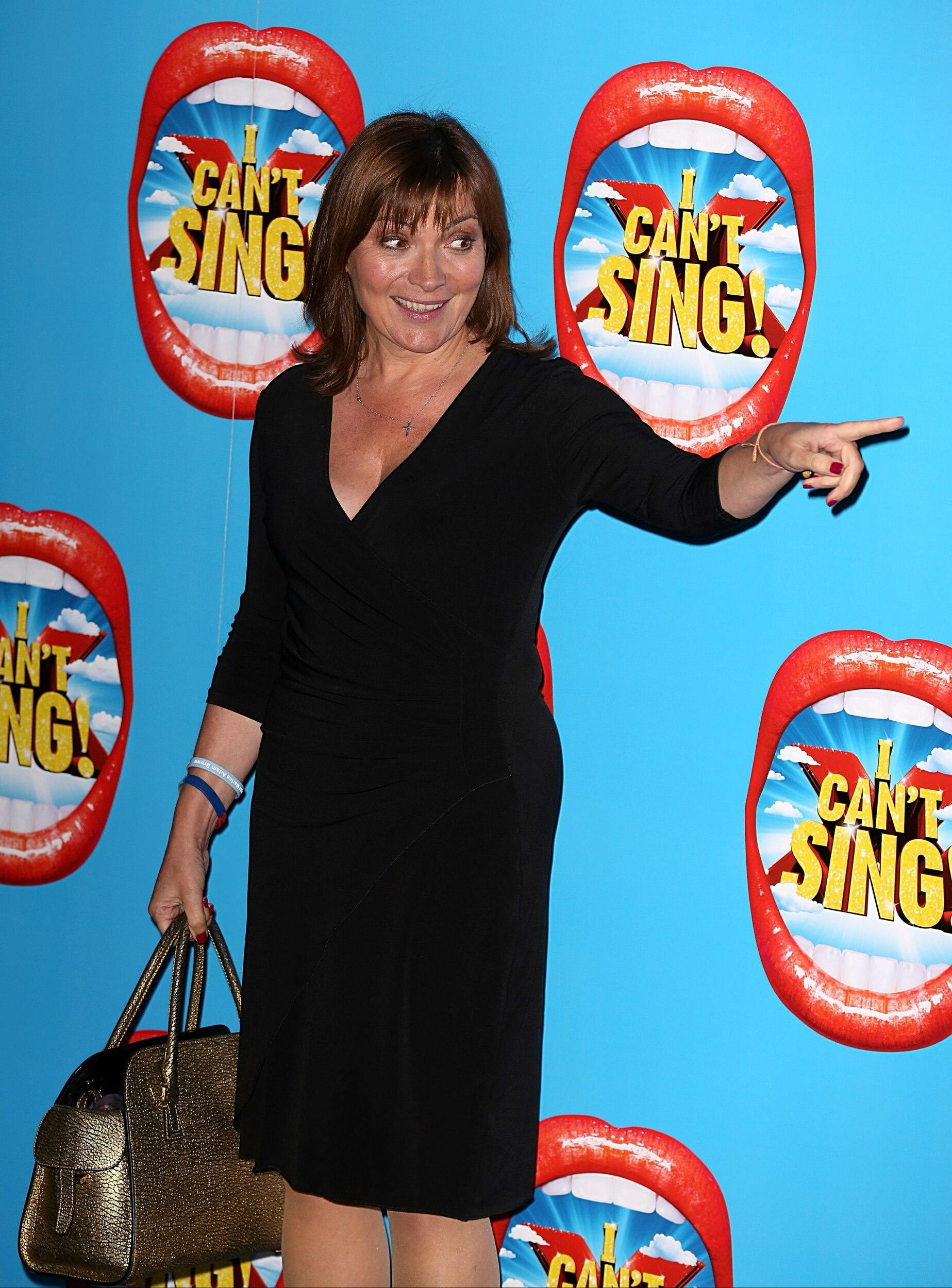 Lorraine Kelly attending the opening night of I Can't Sing! The X Factor Musical