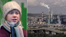 Disgusting Sticker Of 'Greta Thunberg' Linked To Alberta Oil Company Shocks Canadians