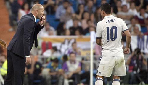 Primera Division: Medien: Zidane plant ohne James
