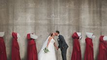 Photographer says 'Handmaid's Tale' wedding photo backlash should 'wake people up'