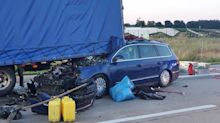 Kriminalität: Tödlicher Unfall auf A24 - Ermittlungen gegen Gaffer