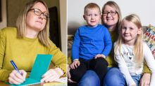 The heartbreaking reason this mum writes letters to her kids