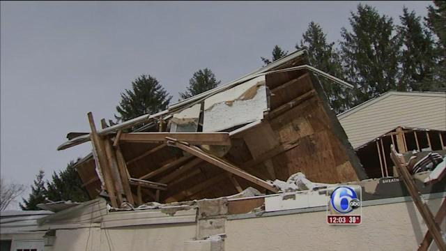 Snow blamed in Bucks County roof collapse