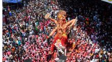 Ganesh Chaturthi ends; devotees bid adieu to Hindu deity at immersion ceremonies