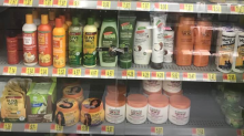 N.Y. Walmart removes locked glass doors from black hair care products case after complaints of racial bias