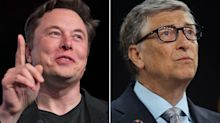 Elon Musk blasted fellow billionaire Bill Gates, saying he's clueless about electric trucks