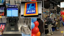 Aldi launches first self-service checkouts in major backflip