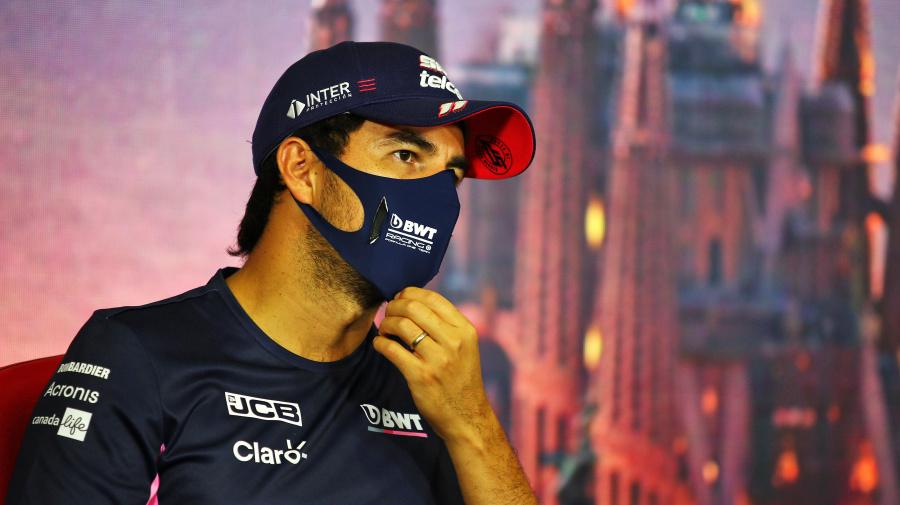 """F1 : Sergio Pérez """"heureux d'être débarrassé du coronavirus"""" et de courir en Espagne"""