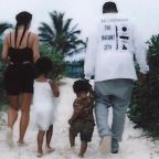 Kim Kardashian Calls Kanye West the 'Best Daddy' in Sweet Father's Day Tribute: 'We Love You'