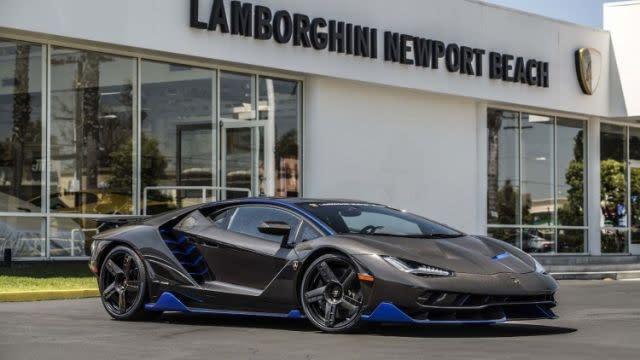 First Us Customer Gets Keys To Lamborghini Centenario