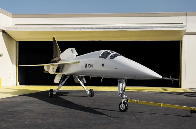Boom unveils the XB-1, its supersonic testbed