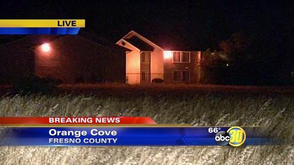 Arsonist believed to be on the loose near Orange Cove