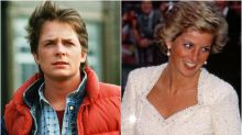 Michael J Fox And Princess Diana Sat Together At The Back To The Future Premiere And It Was 'Just Agony'