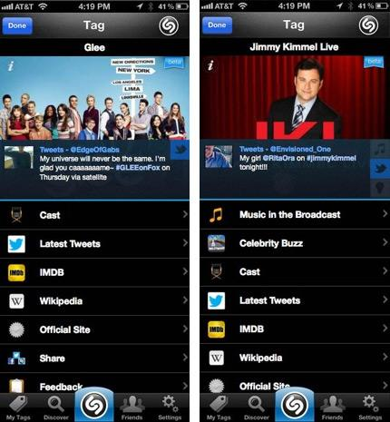 Shazam now rides shotgun with any TV show in the US, gets cozier with Facebook