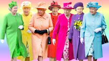Queen Elizabeth's Rainbow Closet of Coats