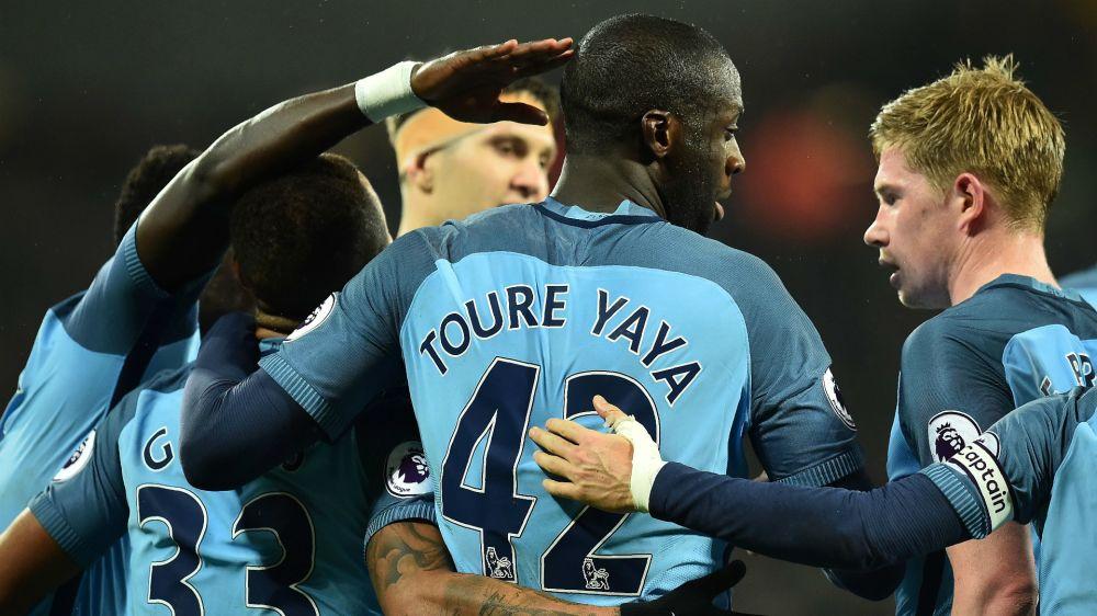 Yaya Toure would consider joining Ibrahimovic at Man Utd as he prepares to quit Man City