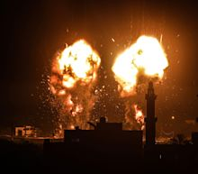Israel launches airstrikes on Gaza in response to 'incendiary balloons'