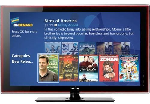 Blockbuster OnDemand en route to Samsung HDTVs, Blu-ray players, and home theater systems