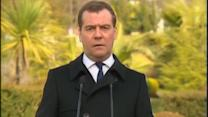 """The government doesn't exist,"" Medvedev on Ukraine"