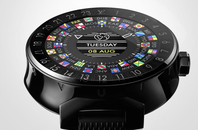 Louis Vuitton made a $3,000 Android Wear smartwatch