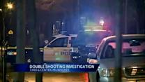 Police investigate double shooting