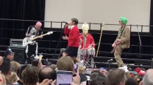 Red Hot Chili Peppers play surprise Halloween concert at school assembly: Watch