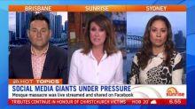 Social media giants under pressure after Christchurch livestream video