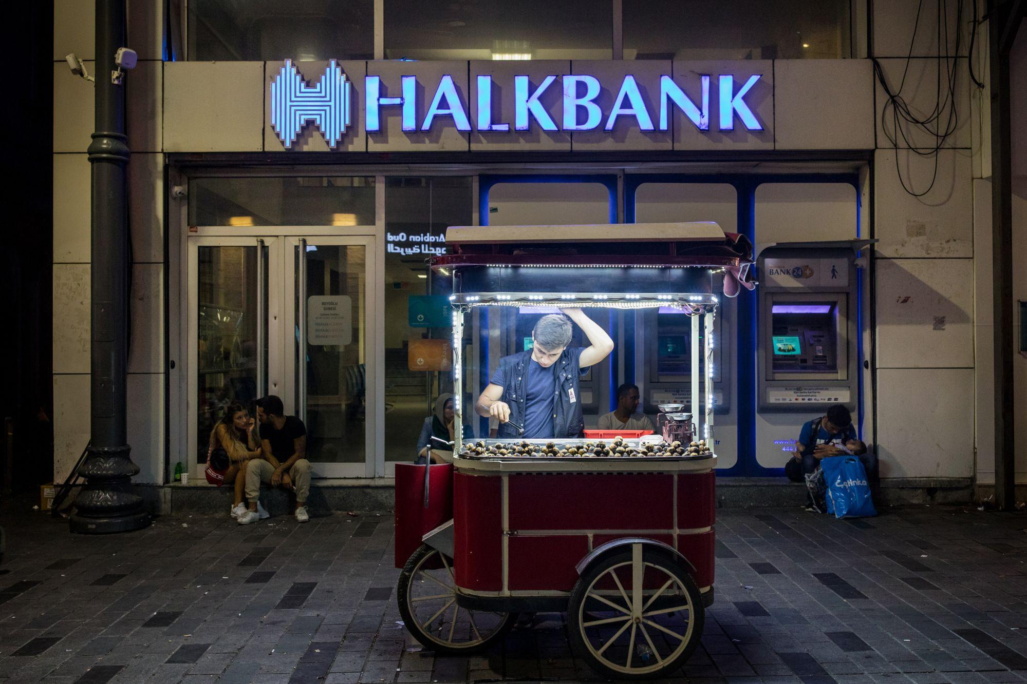 Turkish Markets Sell Off After U.S. Charges Bank...