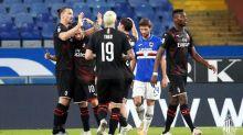 Ibra e Çalhanoglu brilham, e Milan vence a Sampdoria pelo Italiano