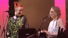 Watch '90s legends Shirley Manson and Fiona Apple team up for 'You Don't Own Me' duet