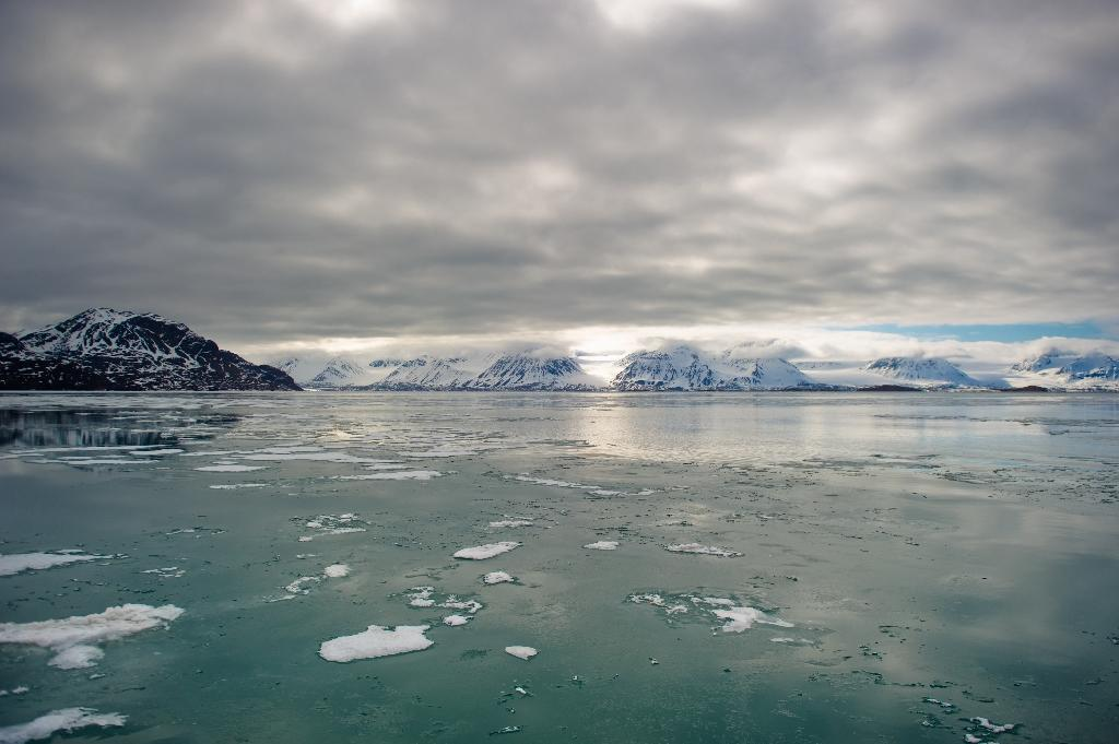 Arctic sea ice has reached its lowest winter point since satellite observations began in the late 1970s, raising concerns about faster ice melt and rising seas due to global warming, US officials said Thursday (AFP Photo/Martin Bureau)