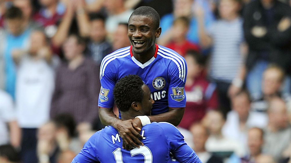Salomon Kalou shows support for injured Tianjin Teda's Mikel