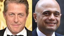 Hugh Grant hits back at Sajid Javid as chancellor brands him 'rude' for refusing handshake