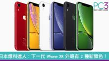 日本爆料達人:下一代 iPhone XR 外殼有 2 種新顏色!