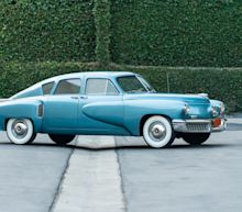 Rare '48 Tucker is just one of the million-dollar-plus cars up for auction this weekend