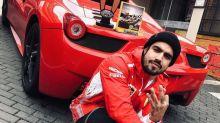 """Caio Castro diz que manobrista já bateu sua Ferrari: """"Ele chorou"""""""