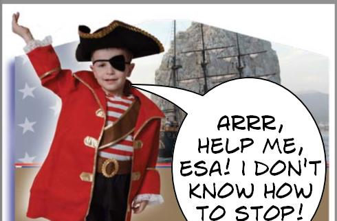 ESA targeting elementary schools with anti-piracy message