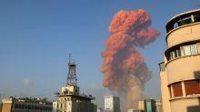 Explosão na região do porto de Beirute causa destruição na capital do Líbano