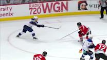 Sobotka snaps a shot past Crawford